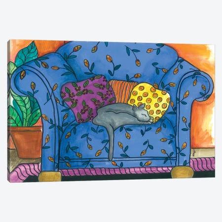 Oban Chair Canvas Print #JPA37} by Jan Panico Canvas Art