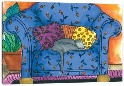 Oban Chair Canvas Art Print