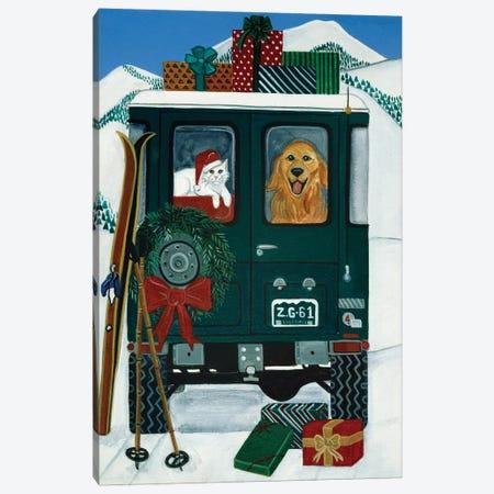 Off To Grandmas Canvas Print #JPA38} by Jan Panico Art Print