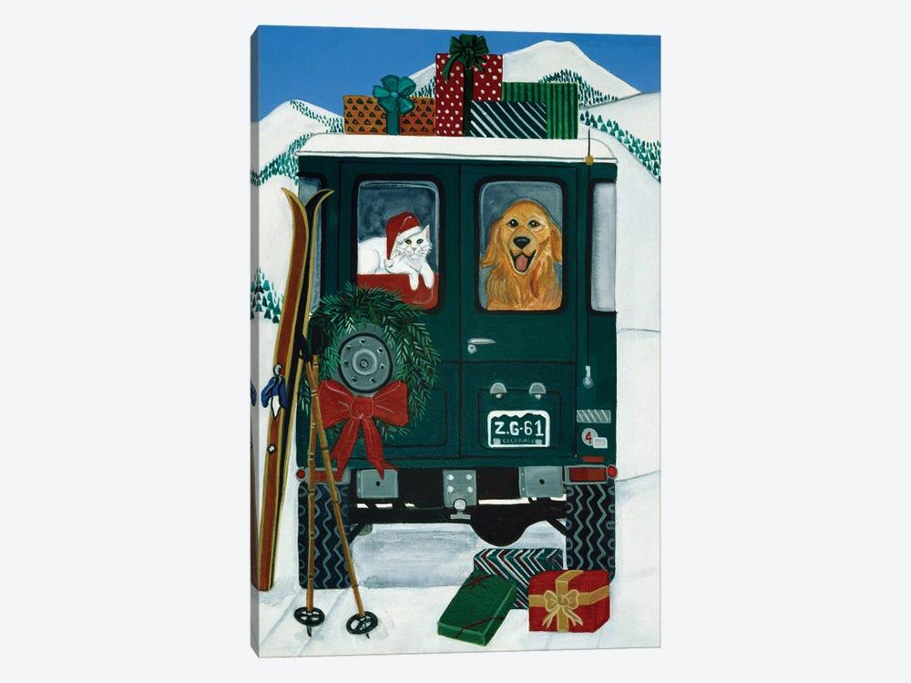 Off To Grandmas by Jan Panico 1-piece Art Print