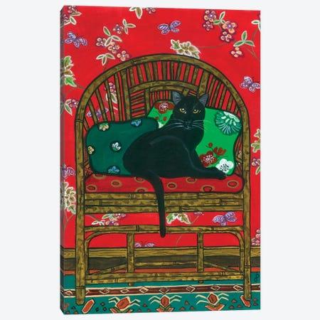Oriental Chair Canvas Print #JPA39} by Jan Panico Canvas Art Print