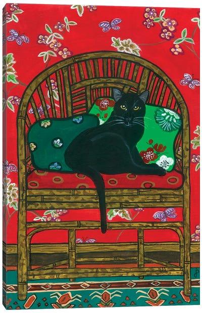 Oriental Chair Canvas Art Print