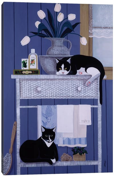 Oscar And Harold Canvas Art Print