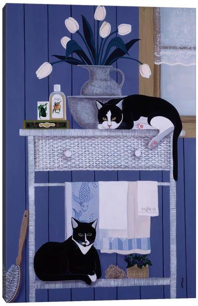 Oscar And Harold Canvas Art Print