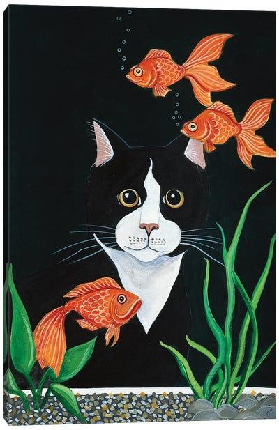 Oscar Mesmerized Canvas Art Print
