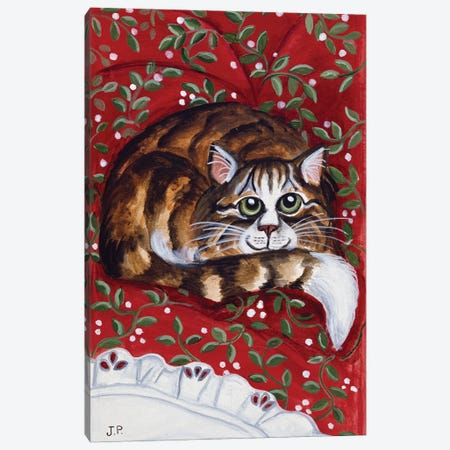 Rudolpha Keeping Watch Canvas Print #JPA48} by Jan Panico Canvas Artwork