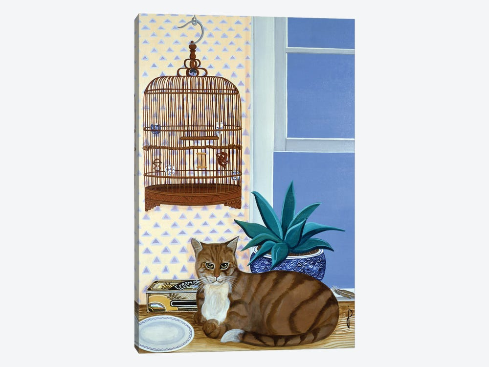 The Empty Cage by Jan Panico 1-piece Canvas Artwork