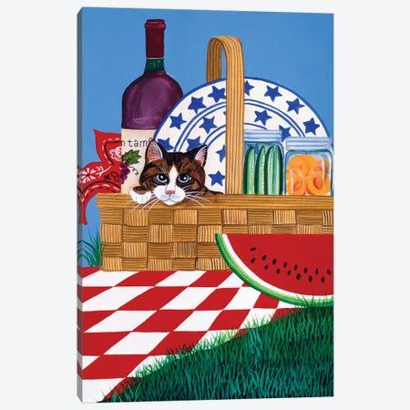 The Picnic Canvas Print #JPA58} by Jan Panico Canvas Print