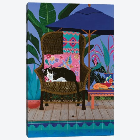 Adios Cucaracha Canvas Print #JPA7} by Jan Panico Canvas Art Print