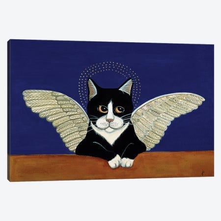 Angel Cat Canvas Print #JPA8} by Jan Panico Canvas Art