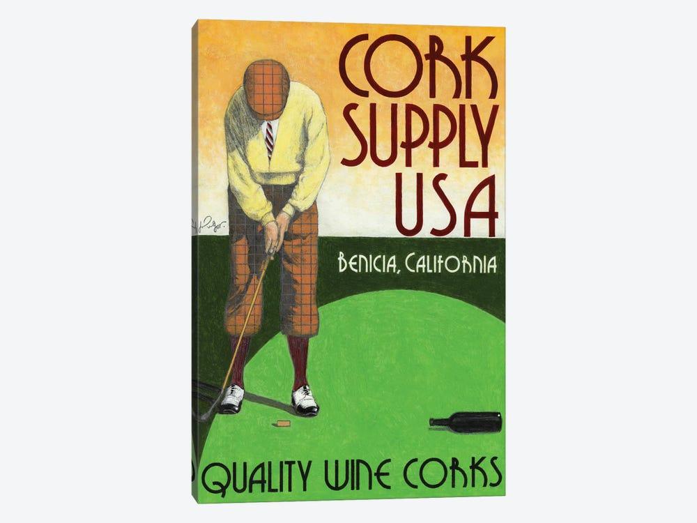 Cork Supply Vintage Advertisement Canvas Art      Jean-Pierre Got   iCanvas