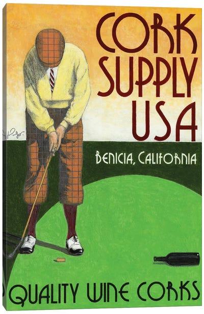 Cork Supply Vintage Advertisement Canvas Art Print