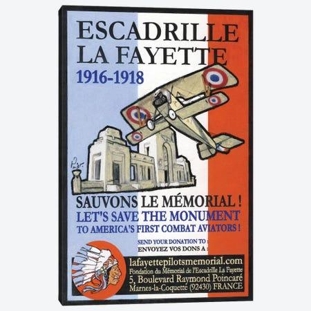 Escadrille De Lafayette Canvas Print #JPG5} by Jean-Pierre Got Canvas Print