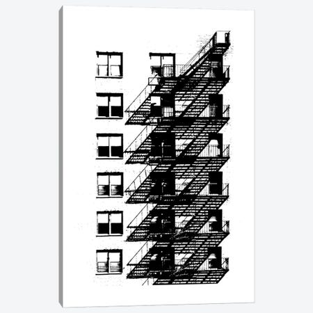 NYC In Pure B&W X Canvas Print #JPI10} by Jeff Pica Canvas Print