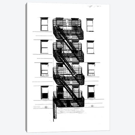 NYC In Pure B&W XI Canvas Print #JPI11} by Jeff Pica Canvas Print