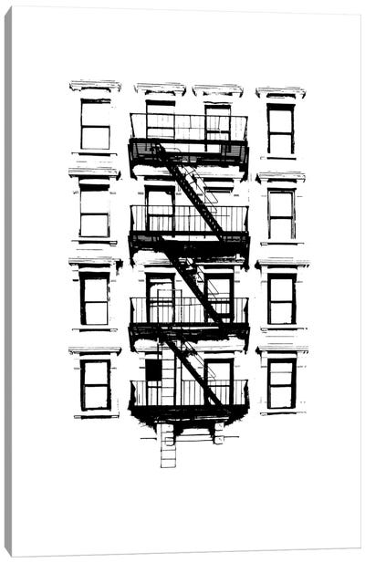 NYC In Pure B&W XII Canvas Art Print