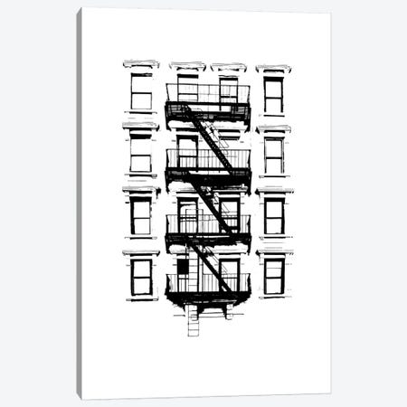 NYC In Pure B&W XII Canvas Print #JPI12} by Jeff Pica Canvas Art Print