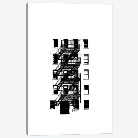 NYC In Pure B&W XIII Canvas Print #JPI13} by Jeff Pica Art Print