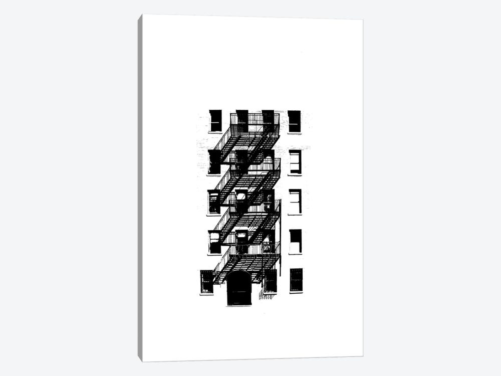 NYC In Pure B&W XIII by Jeff Pica 1-piece Canvas Art Print