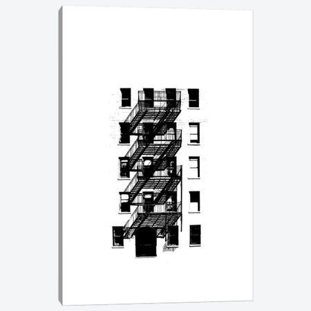 NYC In Pure B&W XIII Canvas Print #JPI13} by Jeff Pica Art Print