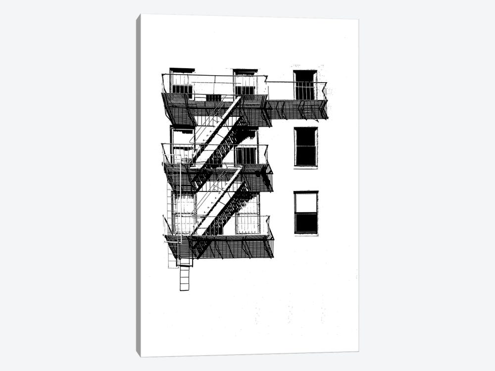 NYC In Pure B&W XIV by Jeff Pica 1-piece Canvas Art