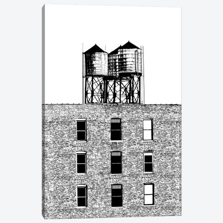 NYC In Pure B&W XVI Canvas Print #JPI16} by Jeff Pica Canvas Wall Art