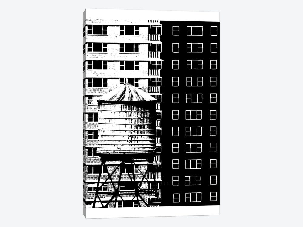 NYC In Pure B&W XVII by Jeff Pica 1-piece Canvas Print