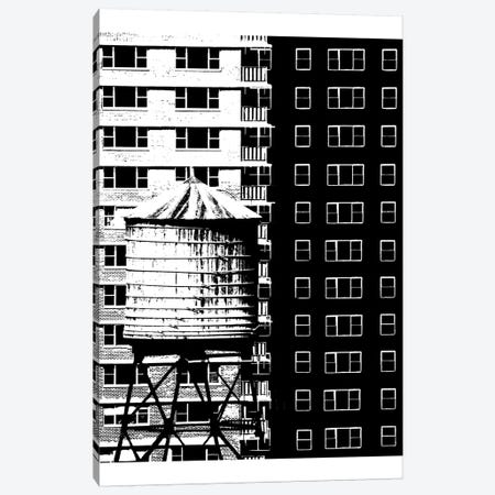 NYC In Pure B&W XVII Canvas Print #JPI17} by Jeff Pica Canvas Art
