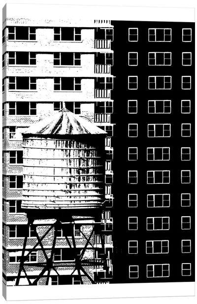 NYC In Pure B&W XVII Canvas Art Print