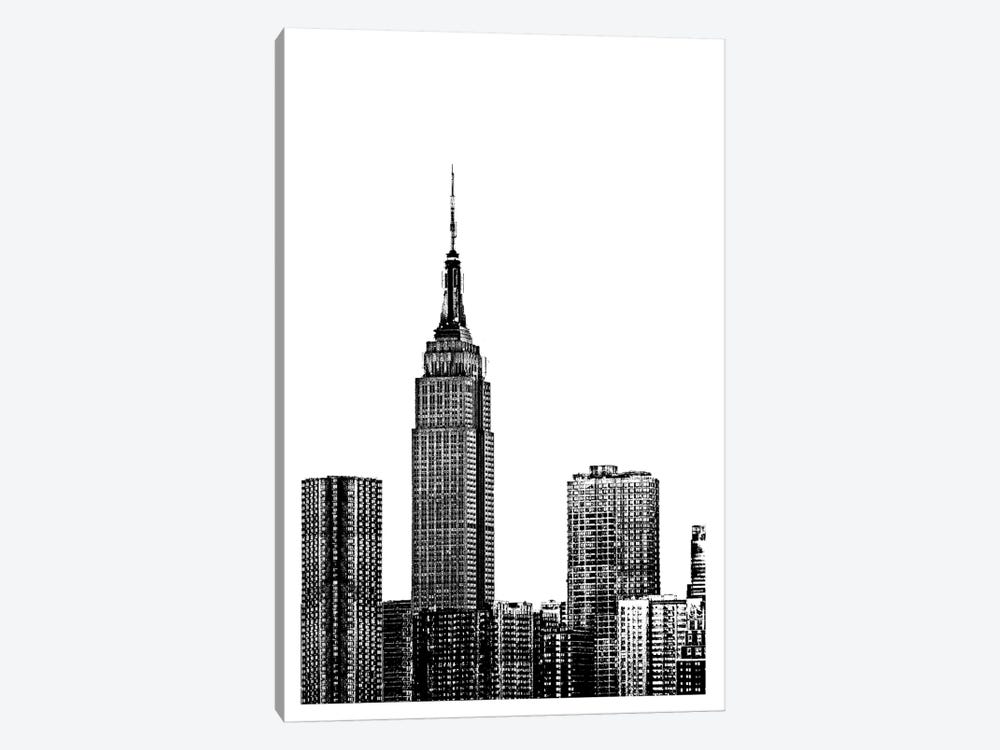 NYC In Pure B&W XVIII by Jeff Pica 1-piece Canvas Artwork