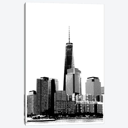 NYC In Pure B&W XIX Canvas Print #JPI19} by Jeff Pica Art Print