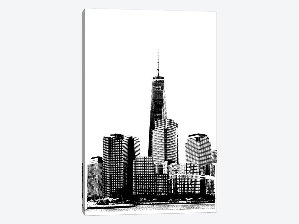 NYC In Pure B&W XIX by Jeff Pica 1-piece Canvas Art Print