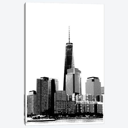 NYC In Pure B&W XIX Canvas Print #JPI19} by Jeff Pica Art Print