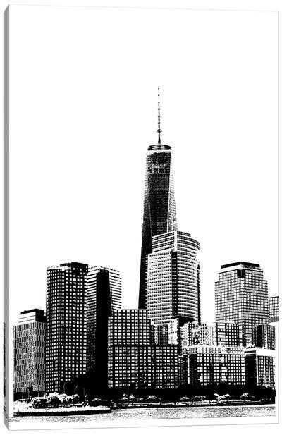 NYC In Pure B&W XIX Canvas Art Print