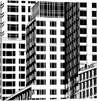 NYC In Pure B&W I Canvas Art Print