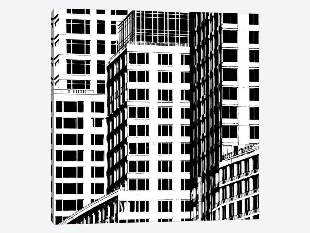 NYC In Pure B&W I by Jeff Pica 1-piece Canvas Print