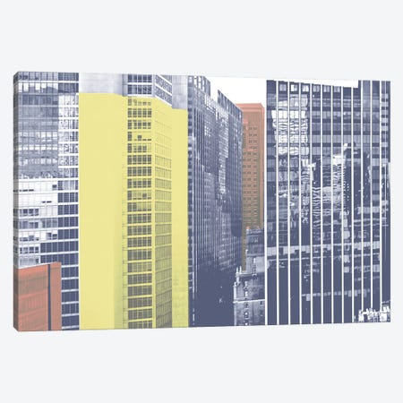 Pastel NYC I Canvas Print #JPI20} by Jeff Pica Canvas Artwork