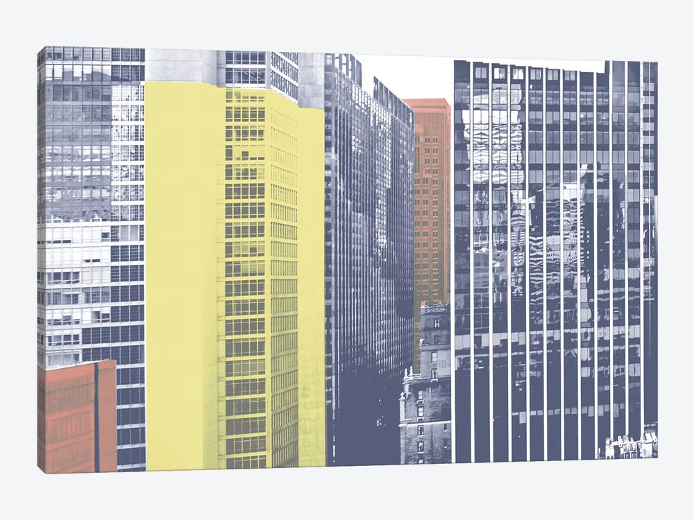 Pastel NYC I by Jeff Pica 1-piece Art Print