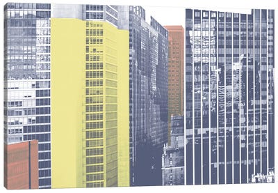 Pastel NYC I Canvas Art Print