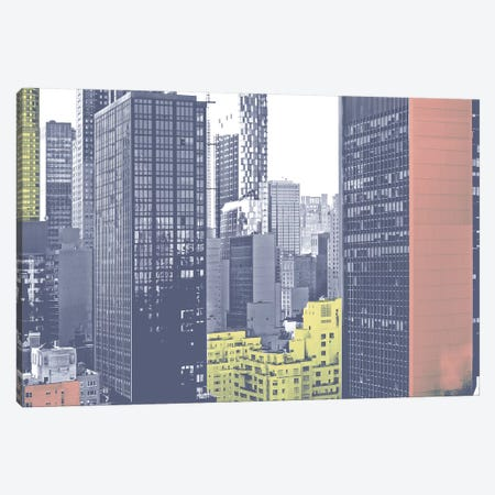 Pastel NYC II Canvas Print #JPI21} by Jeff Pica Canvas Art
