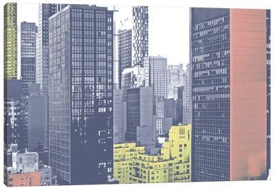 Pastel NYC II Canvas Art Print