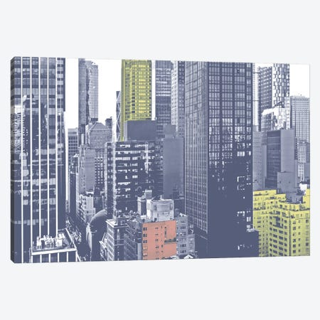 Pastel NYC III Canvas Print #JPI22} by Jeff Pica Canvas Wall Art