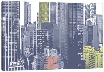 Pastel NYC III Canvas Art Print