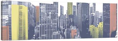 Pastel NYC Panorama Canvas Art Print
