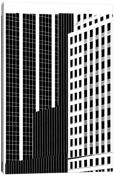 NYC In Pure B&W II Canvas Art Print