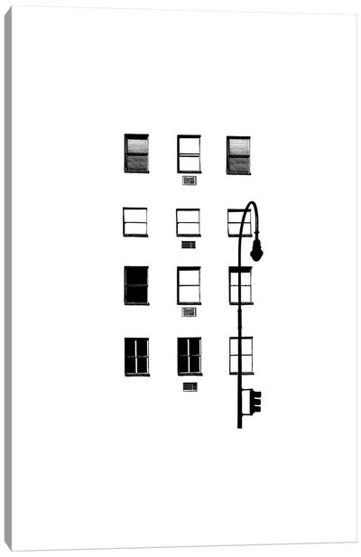NYC In Pure B&W IV Canvas Art Print