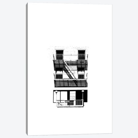 NYC In Pure B&W V Canvas Print #JPI5} by Jeff Pica Canvas Print