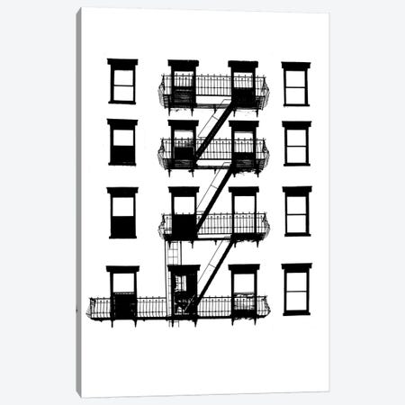 NYC In Pure B&W VI Canvas Print #JPI6} by Jeff Pica Canvas Art Print