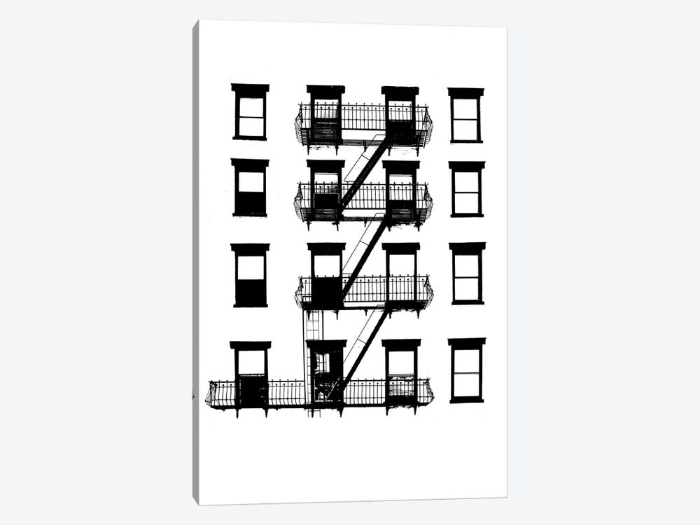 NYC In Pure B&W VI 1-piece Canvas Art