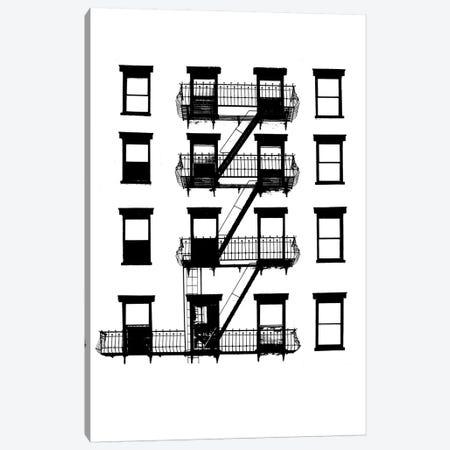 NYC In Pure B&W VI Canvas Print #JPI6} by Jeff Pica Canvas Art Print